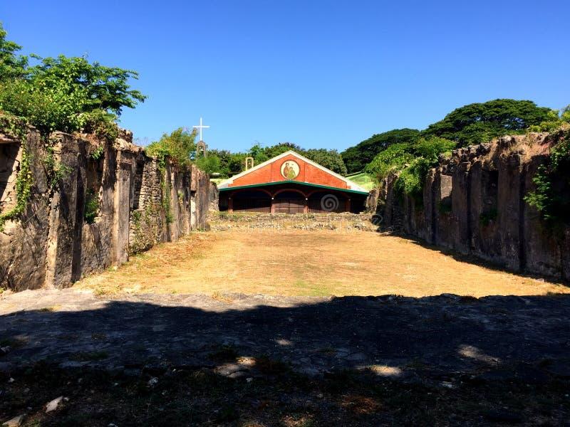 Ruinas de Pindangan fotos de archivo libres de regalías