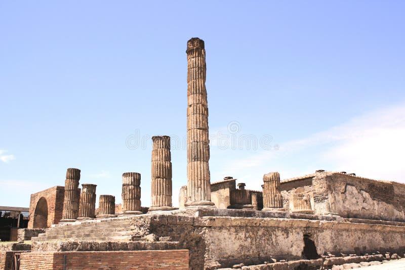 Ruinas de Pompeii foto de archivo libre de regalías