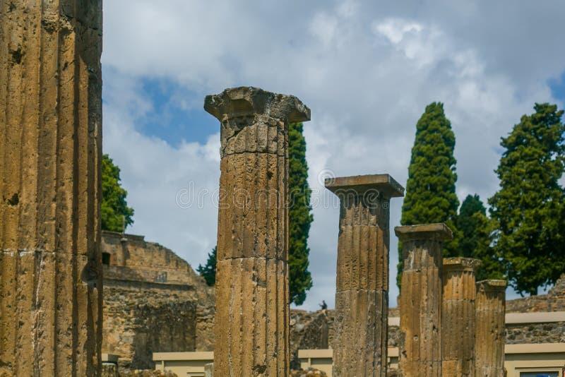 Ruinas de Pompeya fotos de archivo libres de regalías
