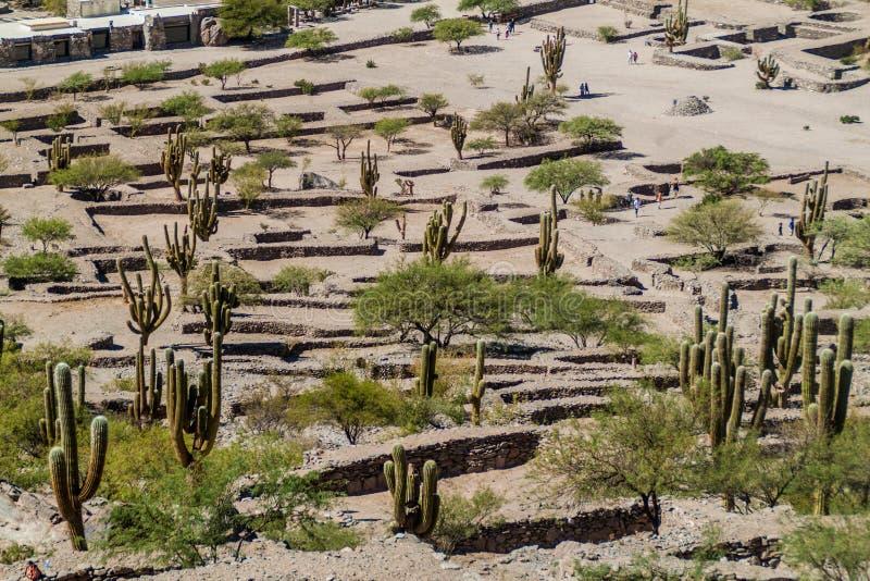 Ruinas de Quilmes imagenes de archivo