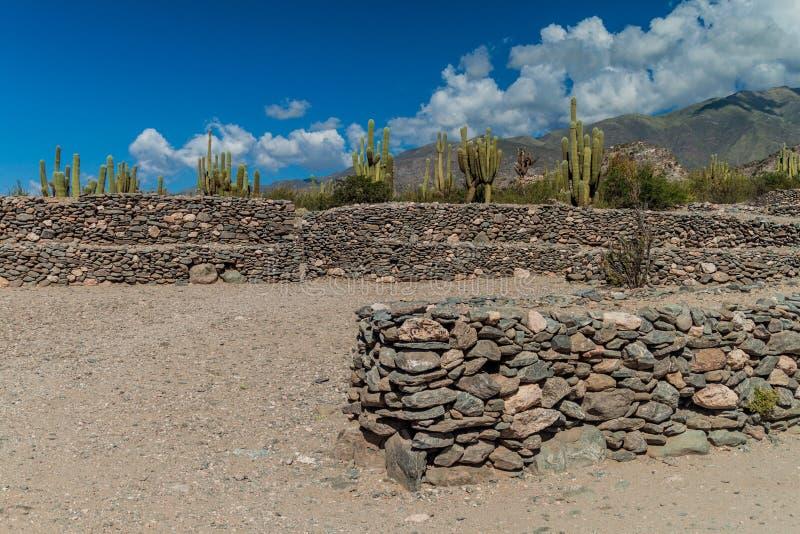 Ruinas de Quilmes, la Argentina fotos de archivo libres de regalías