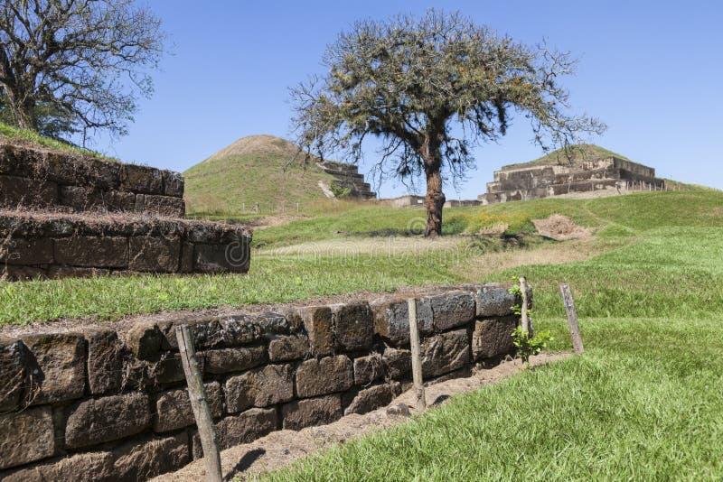 Ruinas de San Andres en El Salvador imagen de archivo libre de regalías