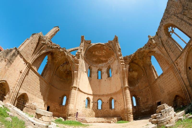Ruinas de San Jorge de la iglesia de Griegos Famagusta, Chipre imagen de archivo libre de regalías
