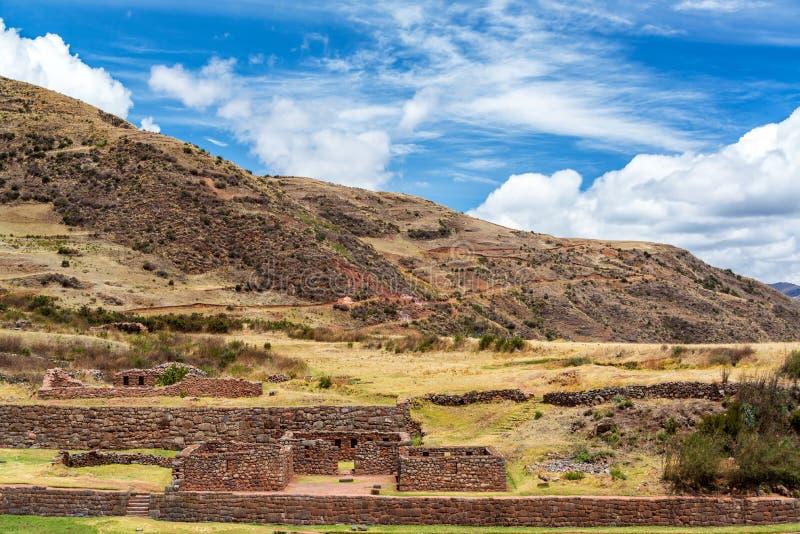 Ruinas de Tipon, Perú fotografía de archivo libre de regalías