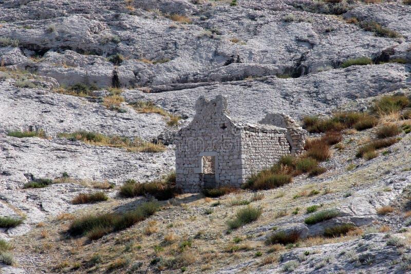 Ruinas de una iglesia vieja fotos de archivo libres de regalías