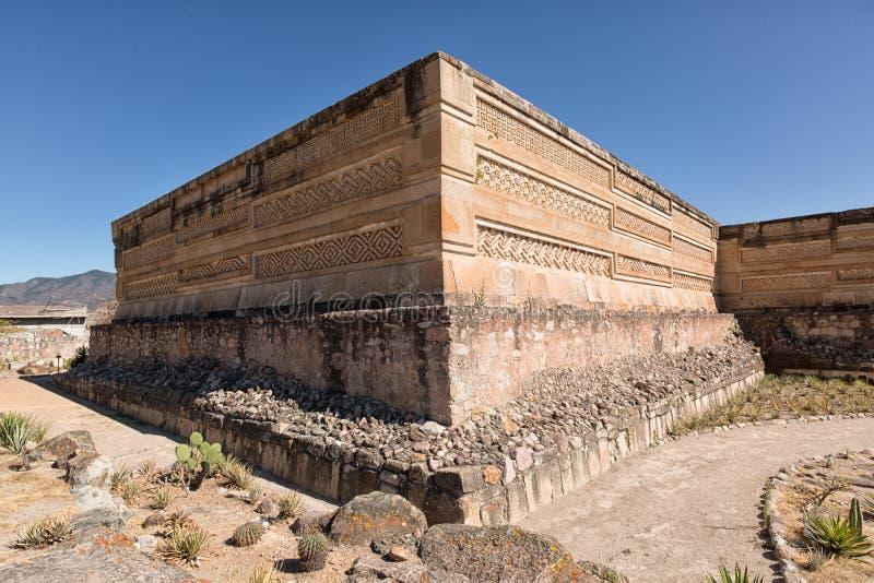 Ruinas de Zapotec en Mitla México fotos de archivo