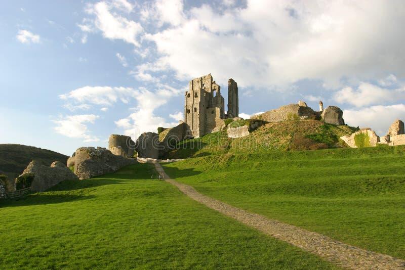 Download Ruinas del castillo foto de archivo. Imagen de tudor, piedra - 75680