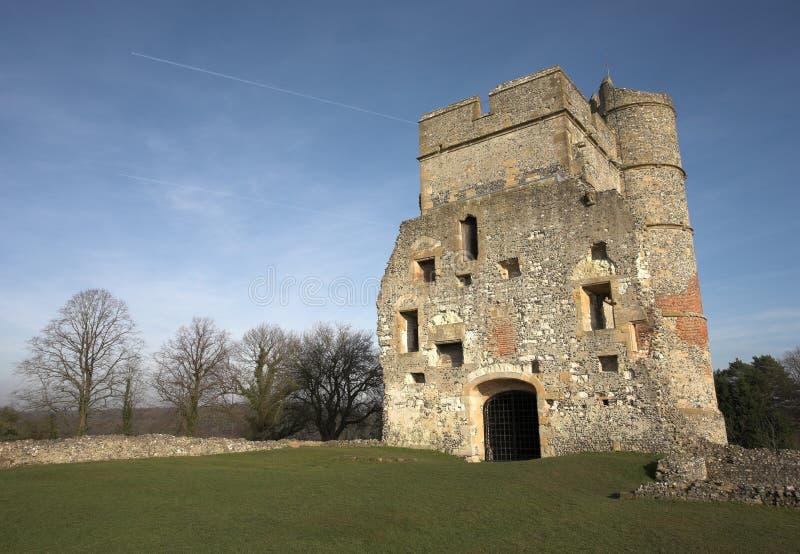 Ruinas del castillo fotografía de archivo libre de regalías