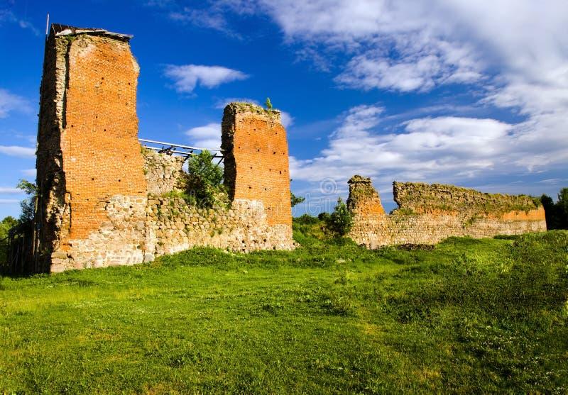 Ruinas del castillo antiguo fotos de archivo libres de regalías