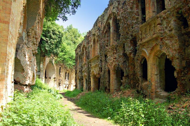 Ruinas del fuerte antiguo, Ucrania imagen de archivo libre de regalías