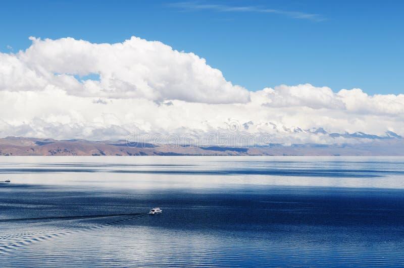 Ruinas del inca, Isla del Sol, lago Titicaca, Bolivia fotos de archivo libres de regalías