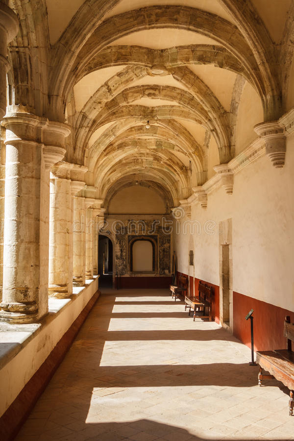 Ruinas del monasterio de Cuilapan de Guerrero foto de archivo