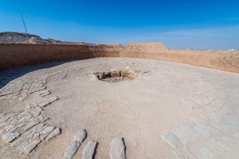Ruinas del Zoroastrian en Yazd foto de archivo libre de regalías