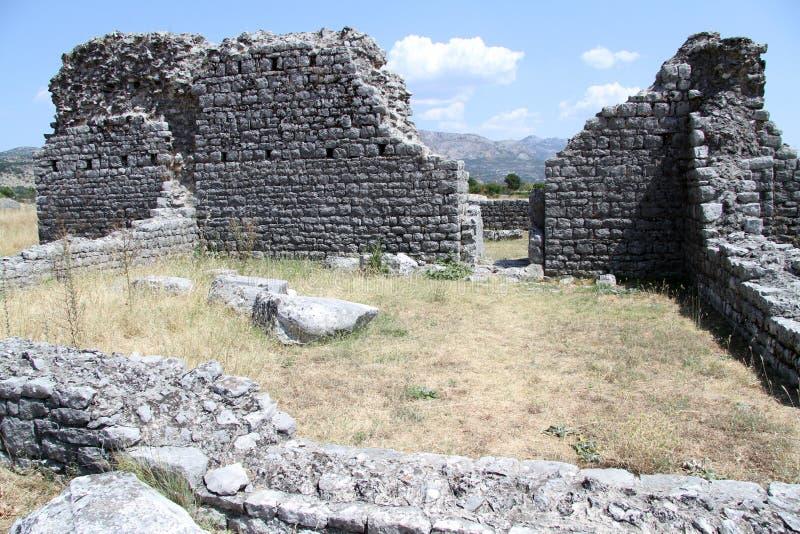 Ruinas en Duclea fotos de archivo libres de regalías