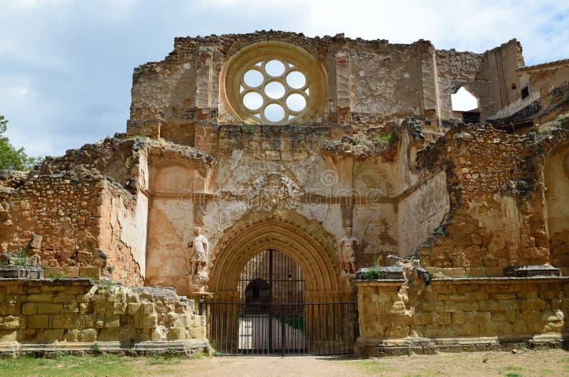 Ruinas en el monasterio de Piedra imágenes de archivo libres de regalías
