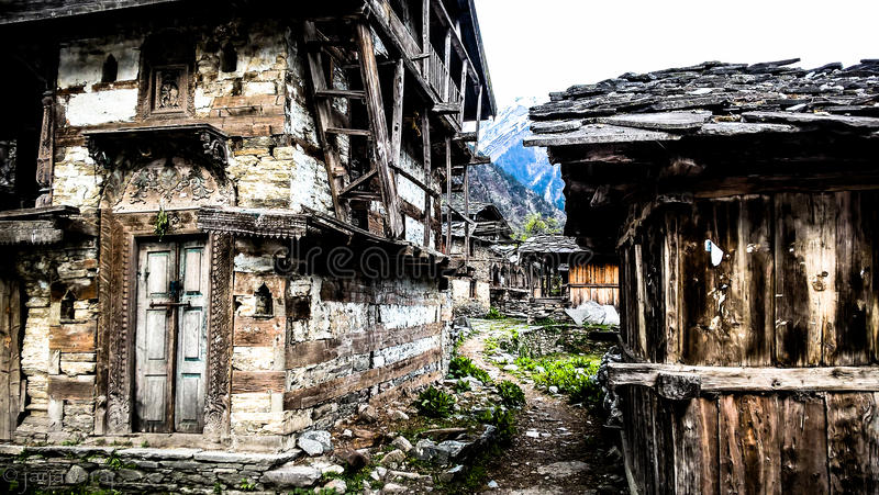 Ruinas en el valle fotos de archivo libres de regalías