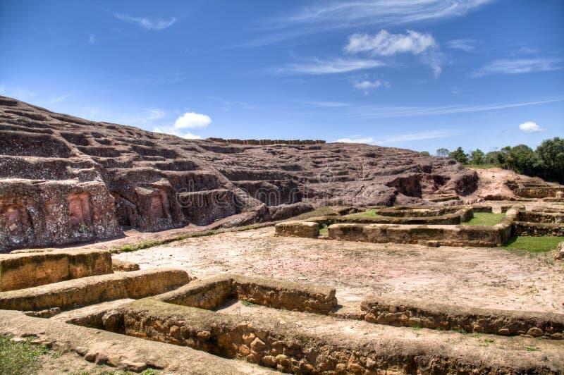 Ruinas en Samaipata imagen de archivo