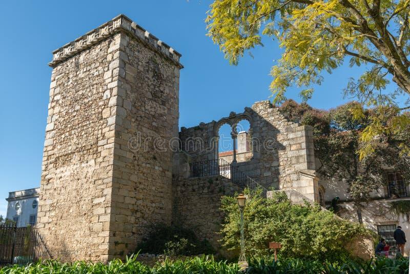 Ruinas falsas en Evora imagen de archivo libre de regalías