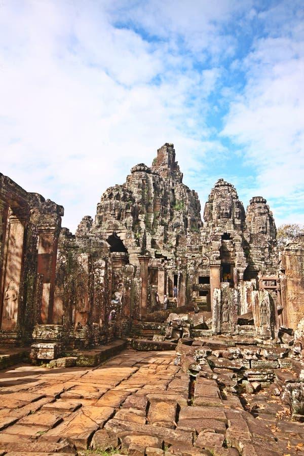 Ruinas históricas de exploración de Camboya fotografía de archivo libre de regalías