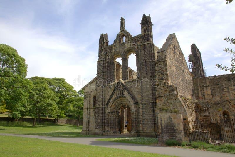 Ruinas Históricas De La Abadía Medieval Imágenes de archivo libres de regalías