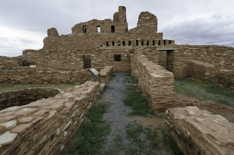 Ruinas históricas de los PECO fotografía de archivo