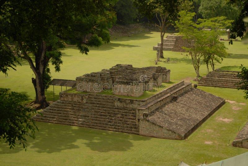 Ruinas mayas imagenes de archivo