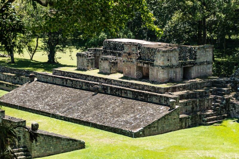 Ruinas mayas de Copan, Honduras imágenes de archivo libres de regalías