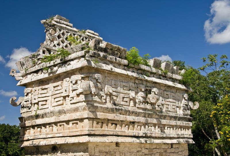 Ruinas mayas en Chichen Itza foto de archivo libre de regalías