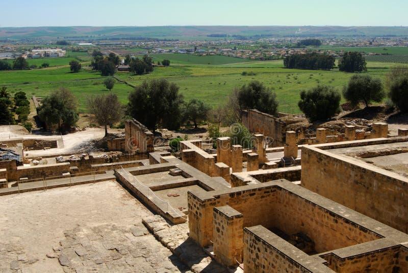 Ruinas, Medina Azahara, España. foto de archivo