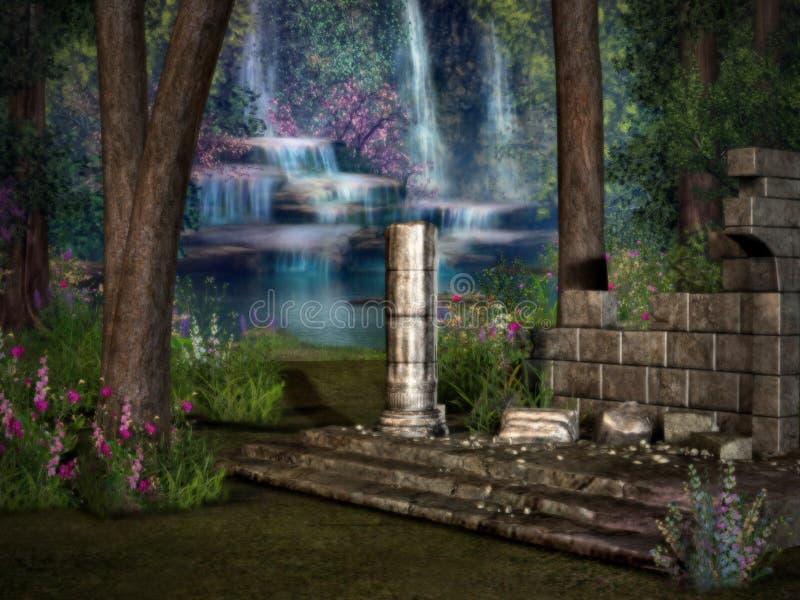 Ruinas perdidas 2 del templo imágenes de archivo libres de regalías