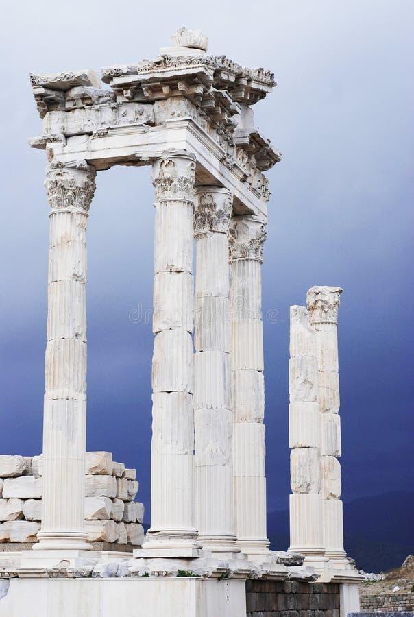 Ruinas romanas antiguas de la ciudad fotografía de archivo