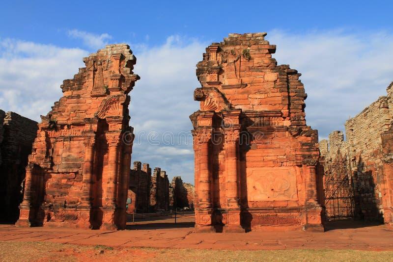 Ruinas SAN Ηγνάτιος Minà στοκ εικόνες