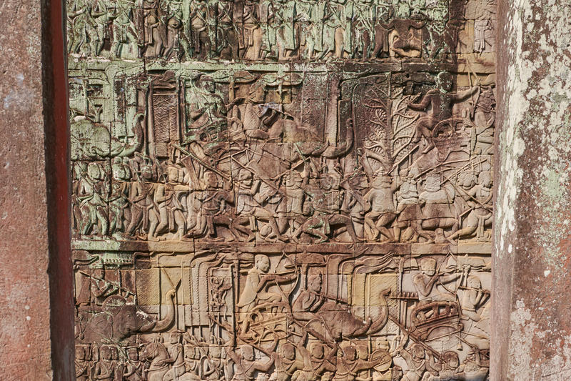 Ruine Angkor Vat, Siem Reap, Cambodge photos stock