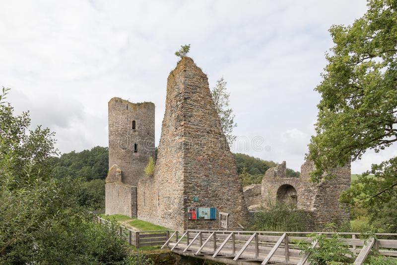 Ruine Baldenau photographie stock libre de droits