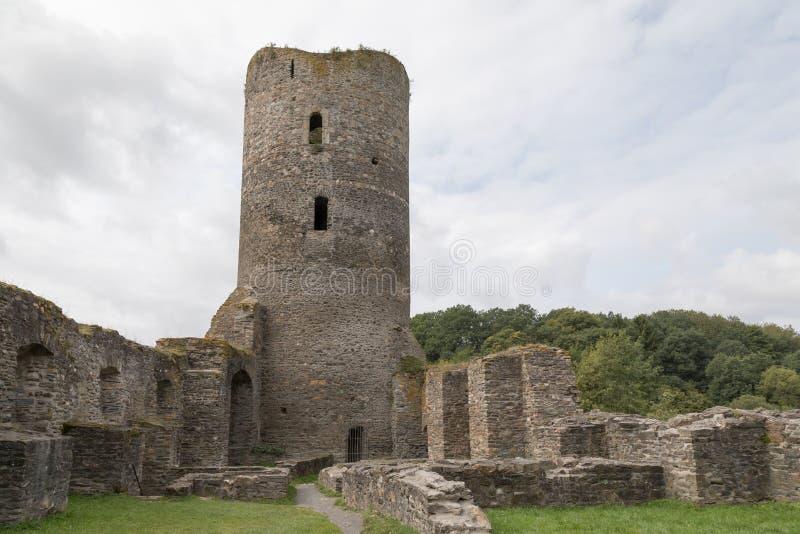 Ruine Baldenau image libre de droits