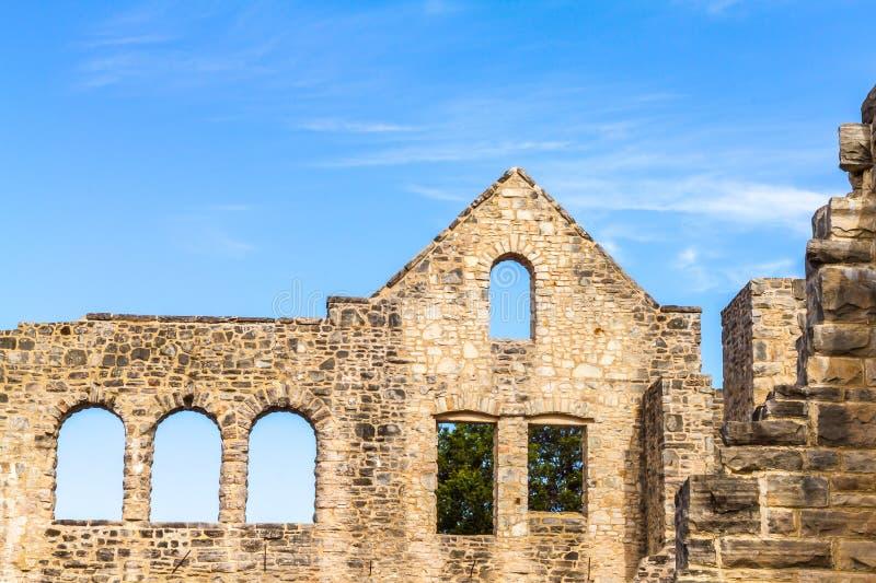 ruine de château images libres de droits