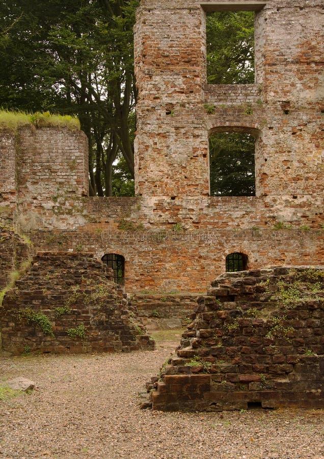 Download Ruine De Château De Trojborg Près De Tonder, Danemark Image stock - Image du cour, murs: 76075047