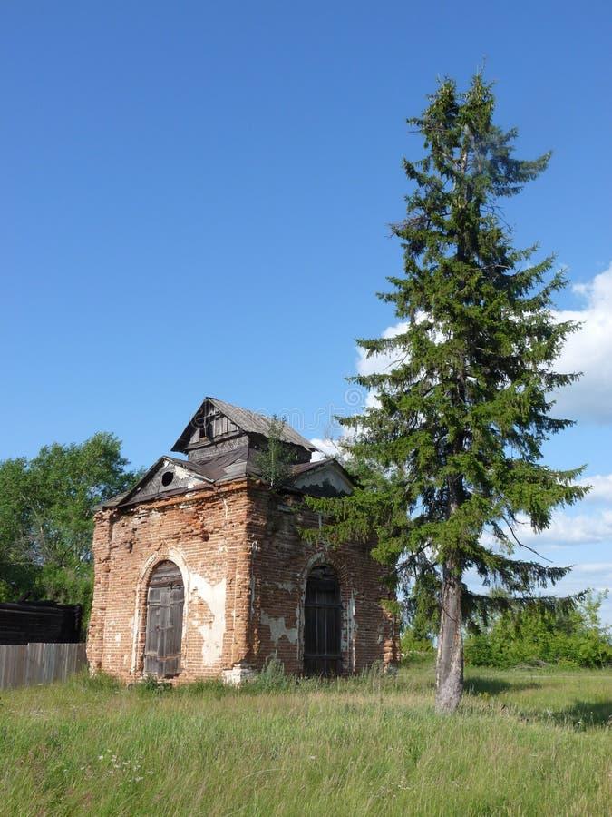 Ruine de chapelle