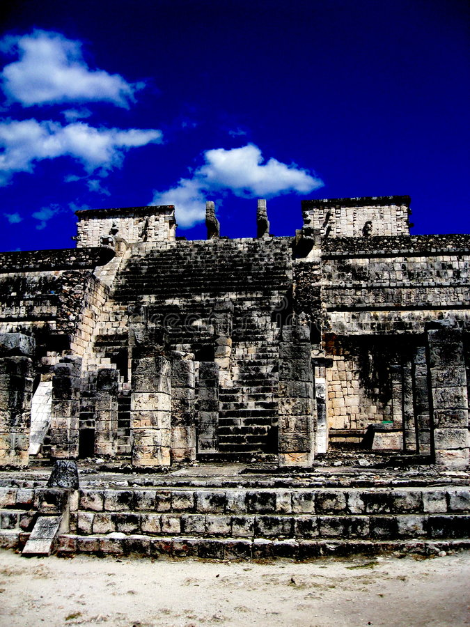 Ruine de Chichen Itza images stock