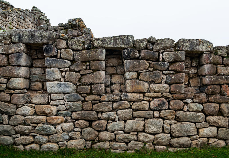 Ruine de fenêtres d'Inca images stock