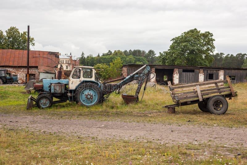 Ruine der Landwirtschaft von den unfähigen wirtschaftlichen Entscheidungen lizenzfreie stockfotos