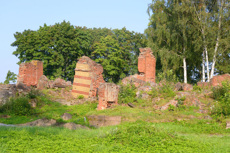 Ruine der unteren Datscha in Alexandria Park lizenzfreie stockfotografie