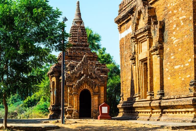 Ruine des pagodas dans Bagan, Myanmar images libres de droits