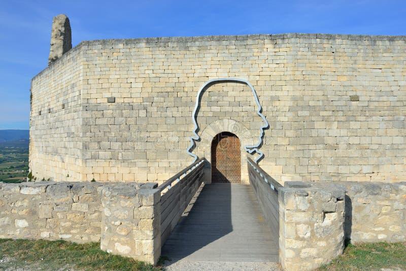 Ruine du château photographie stock