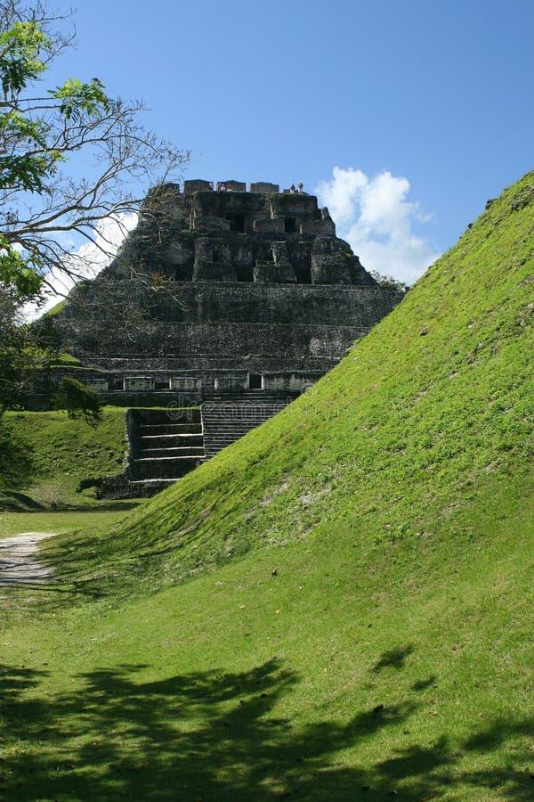 Ruine maya, Belize images libres de droits