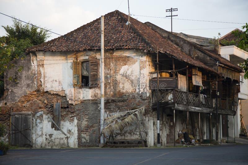 Ruine in Semarang lizenzfreie stockbilder