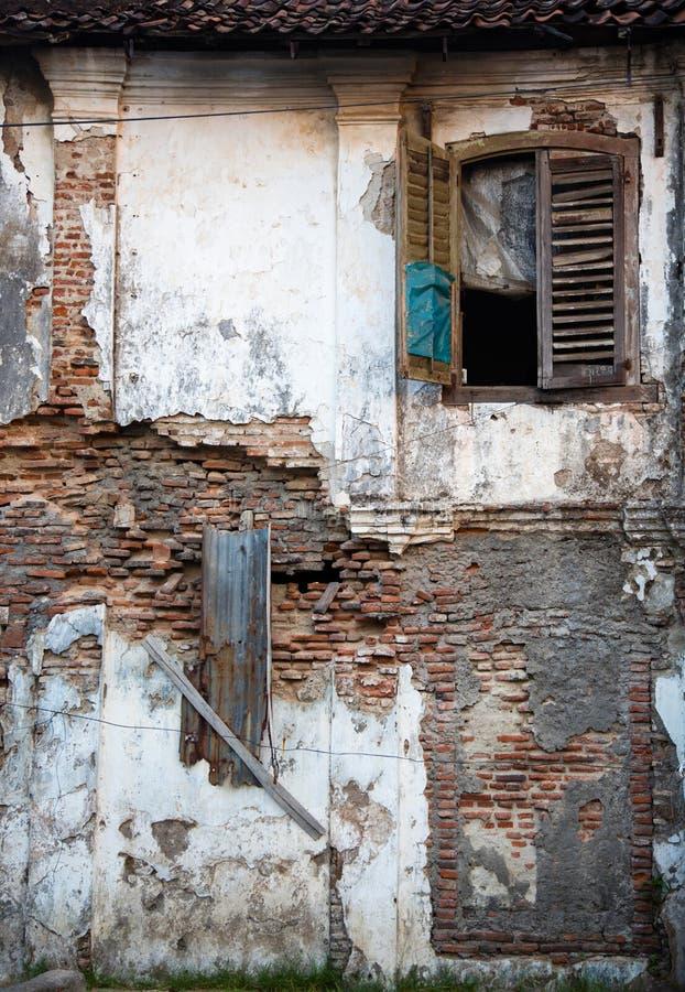 Ruine in Semarang lizenzfreies stockfoto