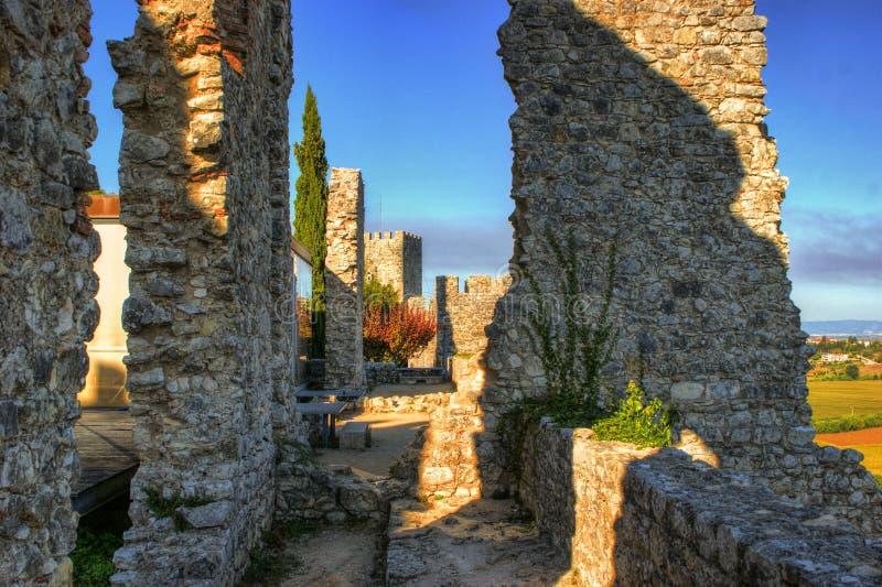 Download Ruined Castle Of Montemor-o-Velho Stock Photo - Image of history, monument: 92490562