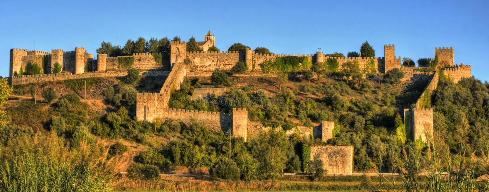 Download Ruined Castle Of Montemor-o-Velho Stock Image - Image of mysterious, obsolete: 92490577