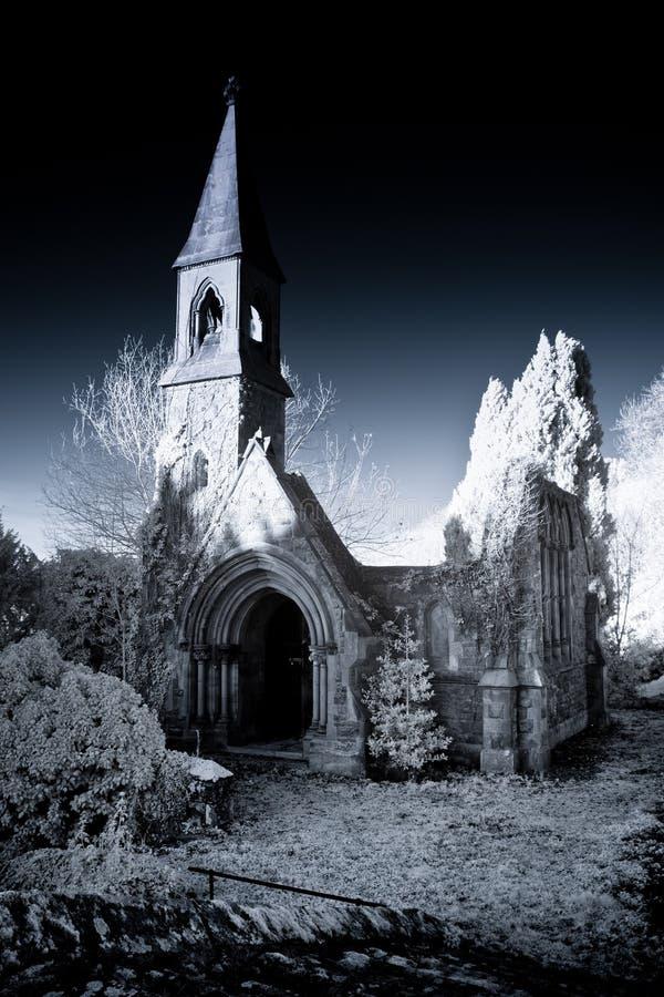 Ruined Chapel stock photos